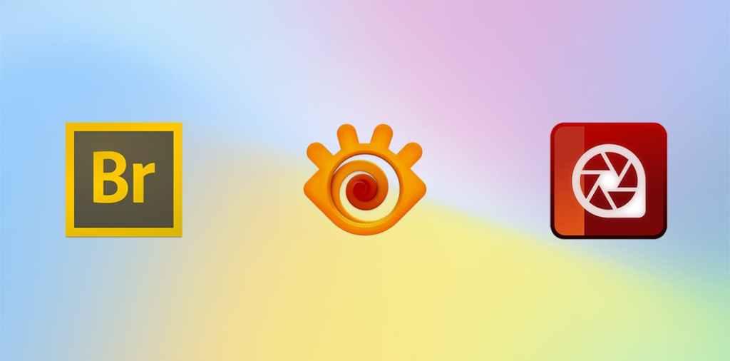 Alternatives to Adobe Bridge - app icons