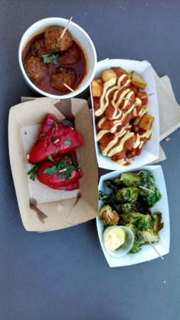 Trailer Food Tuesdays tapas bravas food