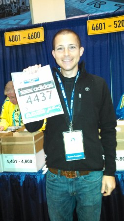 boston marathon packet pickup