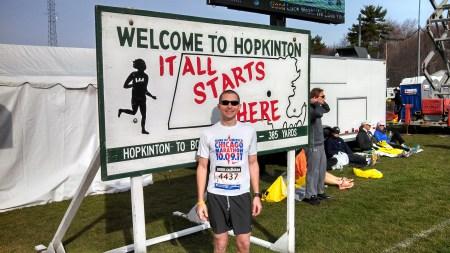boston marathon mike it all starts here