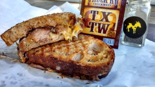 Burro Cheese Kitchen La Barbecue Brisket Grilled Cheese