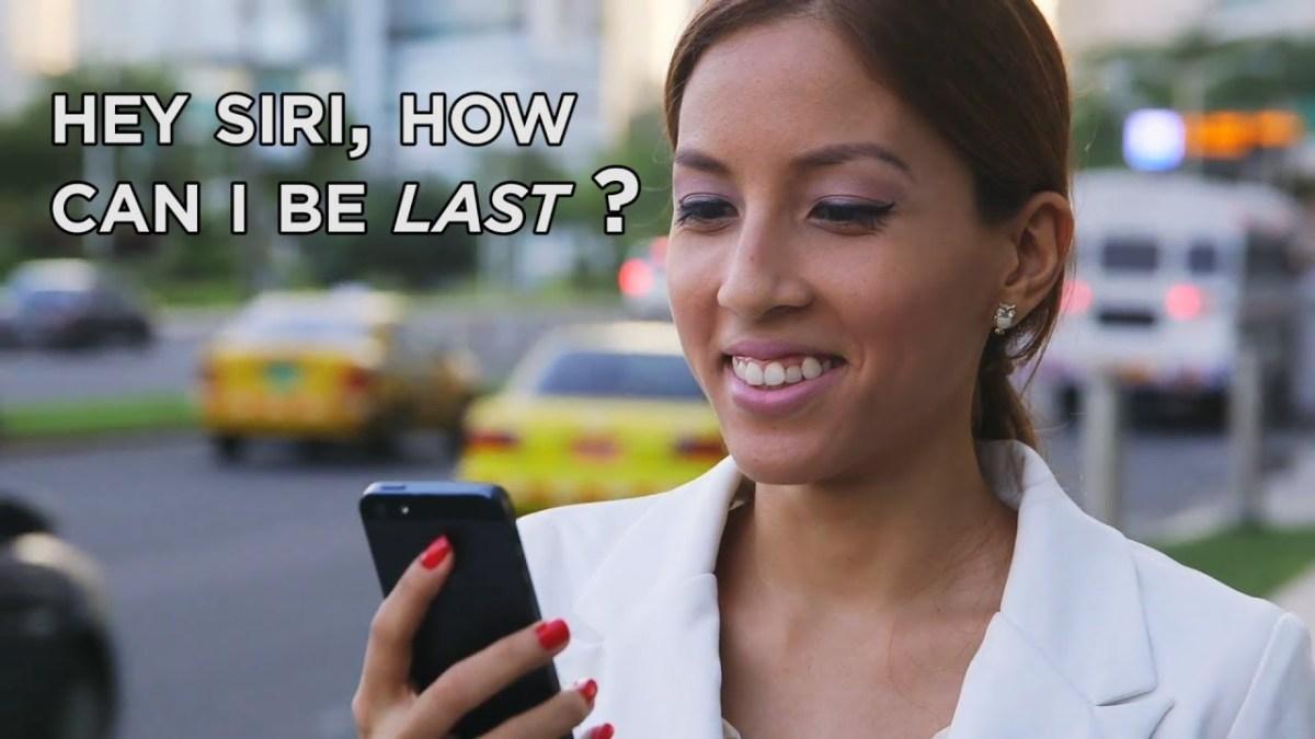Hey Siri, How Can I Be Last? – YouTube