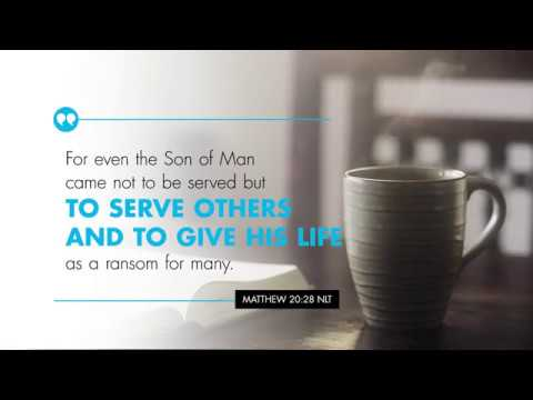 K-LOVE's Verse of the Day: Matthew 20:28 – YouTube