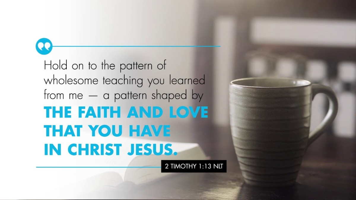 K-LOVE's Verse of the Day: II Timothy 1:13 – YouTube