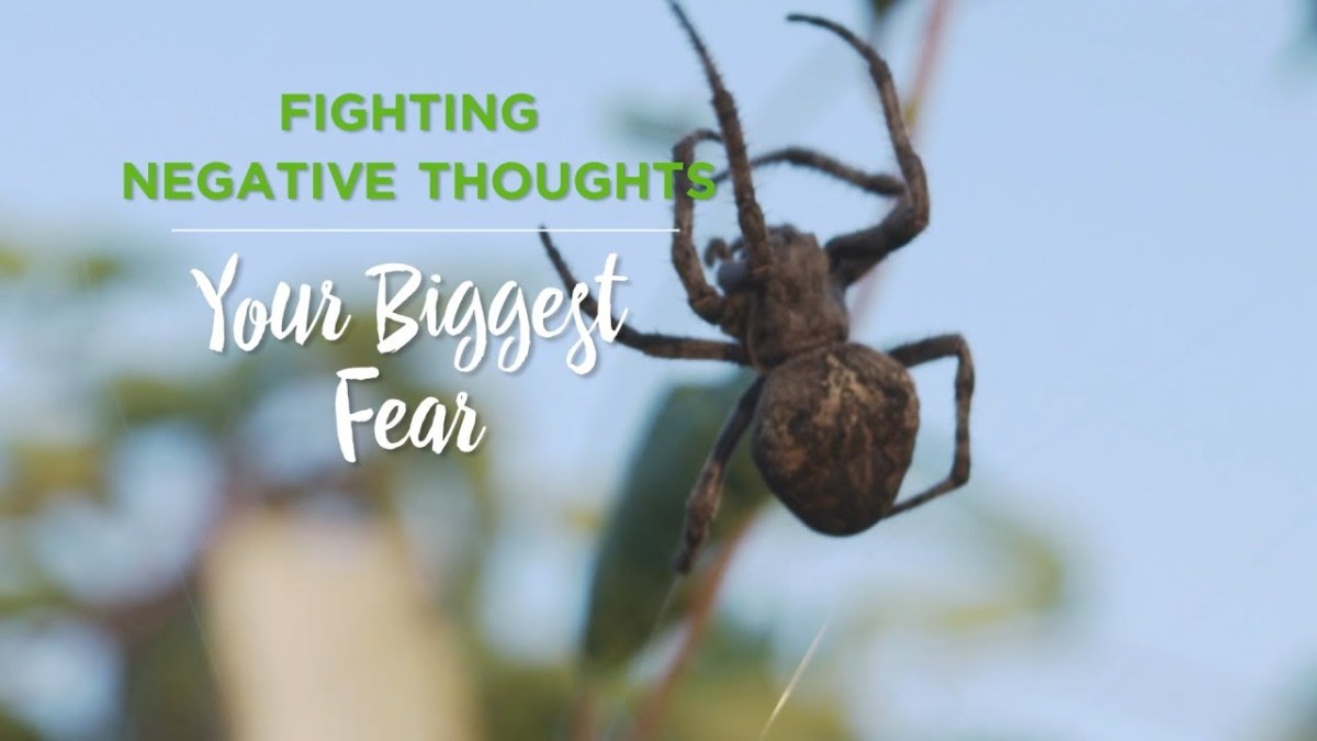 Fighting Negative Thoughts: Your Biggest Fear – YouTube