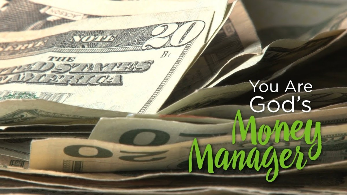 You Are God's Money Manager – YouTube