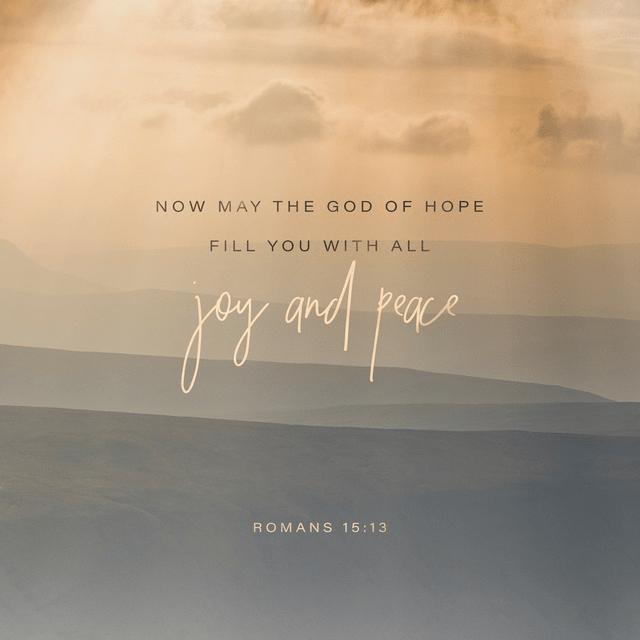 Romans 15:13 CSB