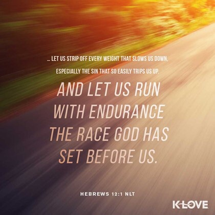 Hebrews 12:1 NLT