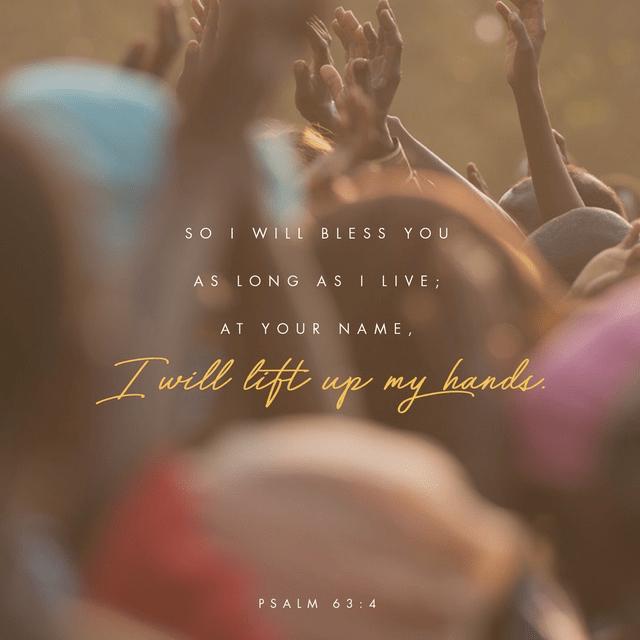Psalms 63:3-4 CSB