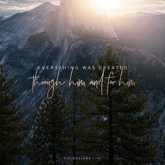 Colossians 1:16 NLT