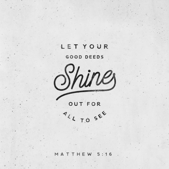 Youversion VotD – December 14, 2018 – Matthew 5:16 ESV