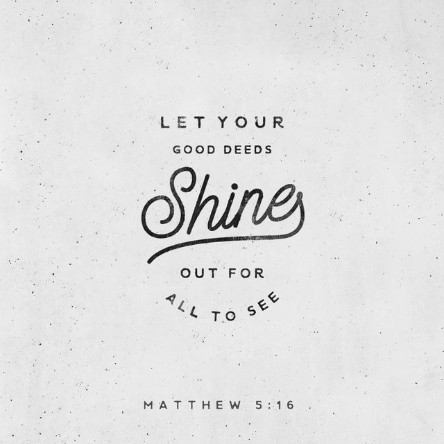 Matthew 5:16 ESV