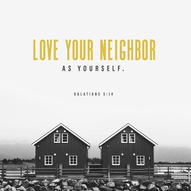 Galatians 5:14 NIV