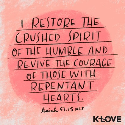 Isaiah 57:15 NLT