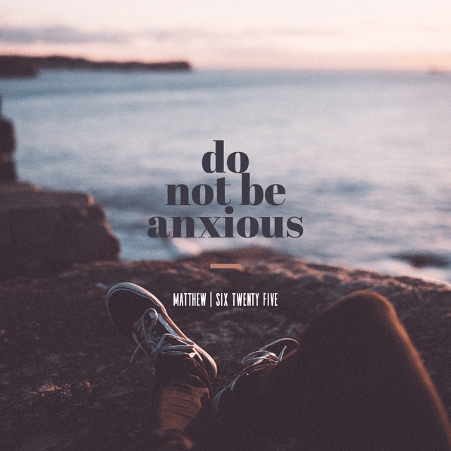 Matthew 6:25 ESV