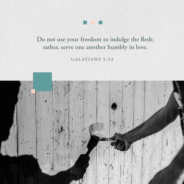 Galatians 5:13 NIV