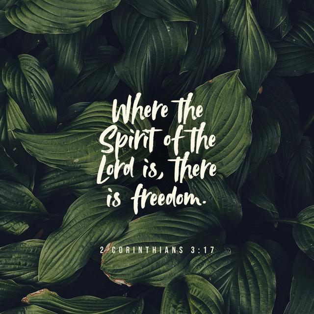 2 Corinthians 3:17 NIV