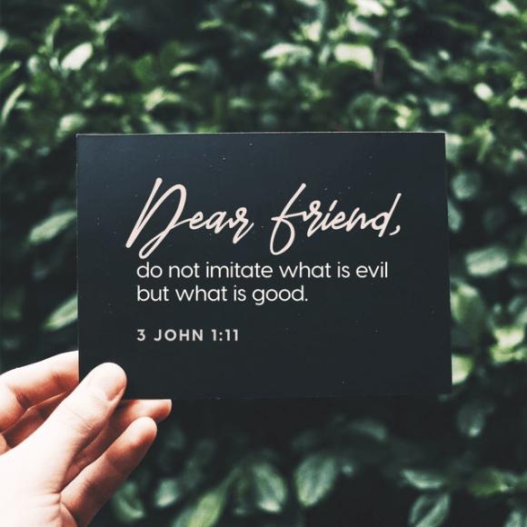 3 John 1:11 NIV