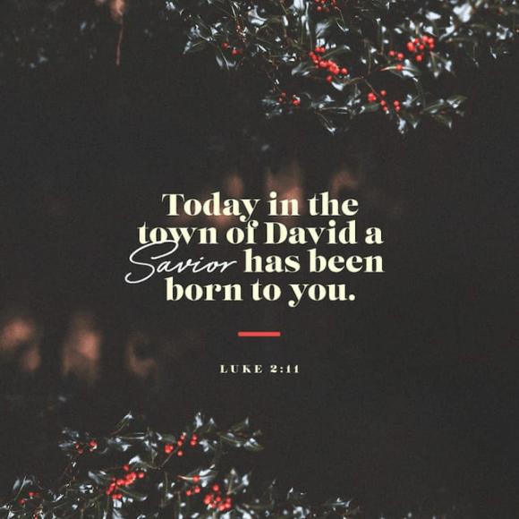 Luke 2:11 NIV