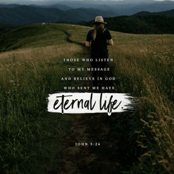 John 5:24 NLT