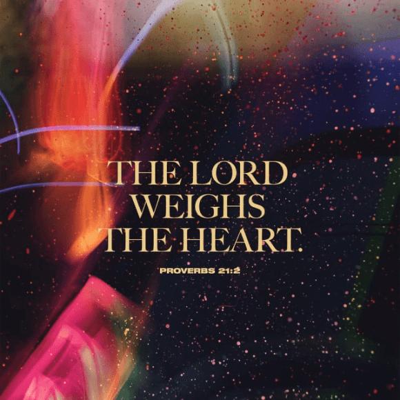 Proverbs 21:2 NIV