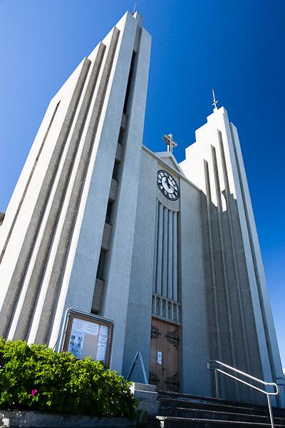 The church at Akureyri.