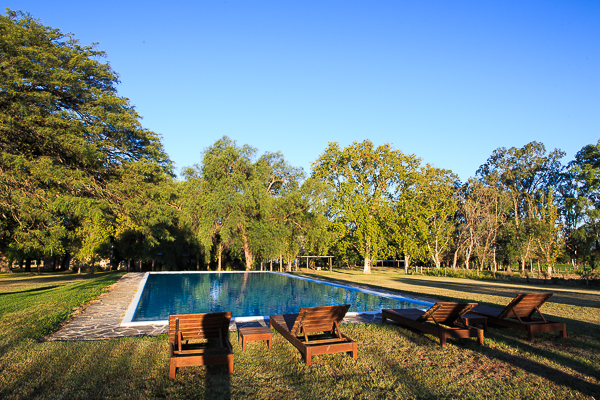 The Pica Zuro pool.