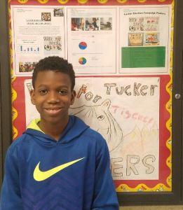 Nathan Ehui- Grade 5 Tucker School.