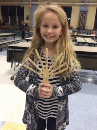 ASE Collicot students made popsicle sticks Turkeys and experimented with pumpkin volcanoes!