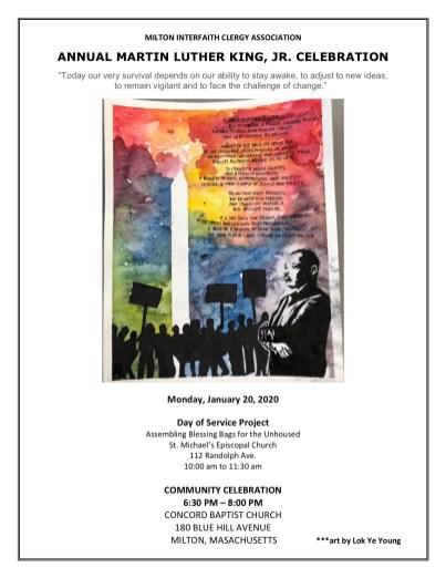 2020 MLKing Celebration Flyer