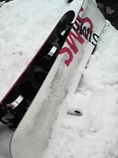 月山スキー場_SIMSのスノーボード