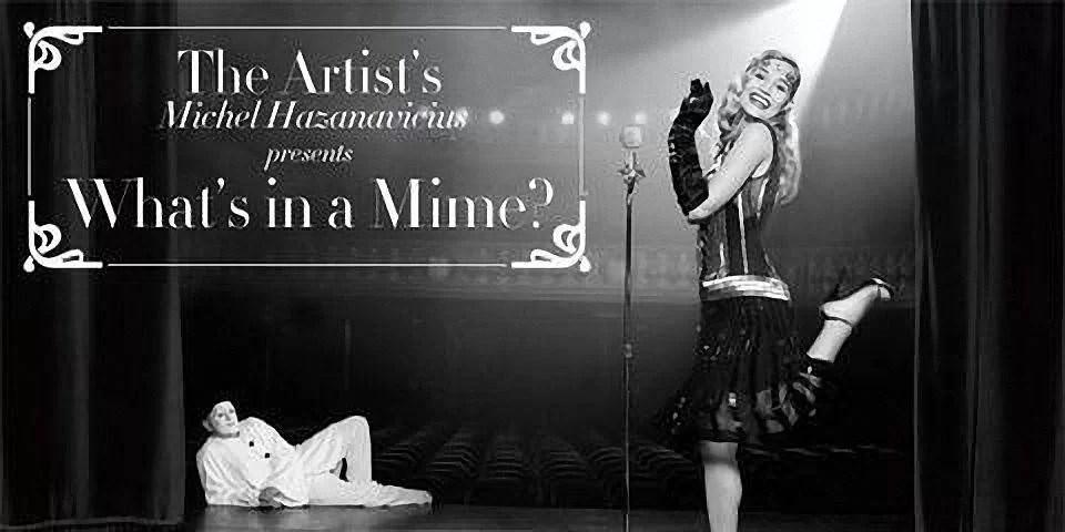 april the artist movie 001 RZ - Jean Reno & Georgia May Jagger à la 'The Artist'