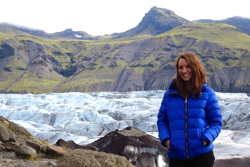 Digital Nomad Kimberly Rich of The Bold Life Movement Loving Iceland
