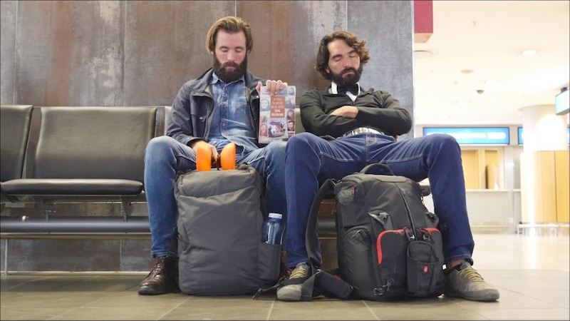 The Keys To Staying Super Productive At The Airport – Optimistic Traveler Sleeping At Airport
