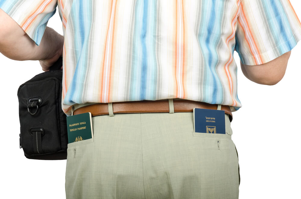 How to Keep Your Passport Safe – Passport in back pocket