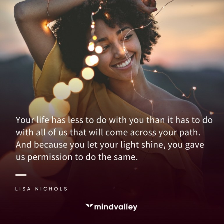 Lisa Nichols - let your light shine