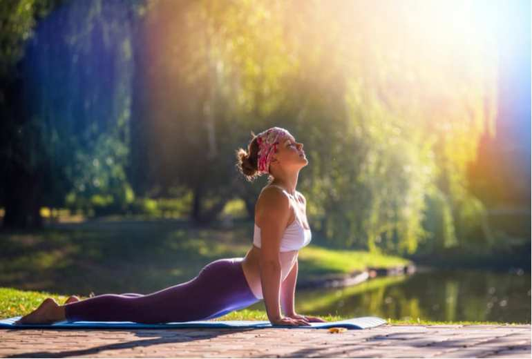 how to relax with yoga