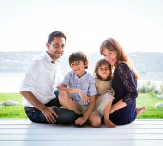 Vishen and family