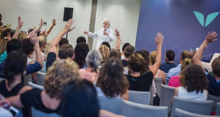 Neale Donald Walsch teaching