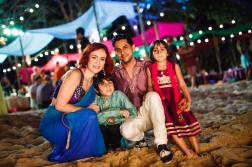 Vishen's family