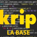 Apprendre le Skript – La base