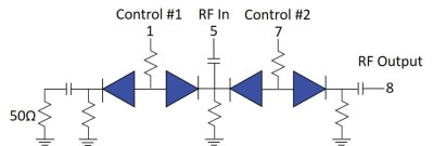Using Model PSW-1211 as a SPST Switch