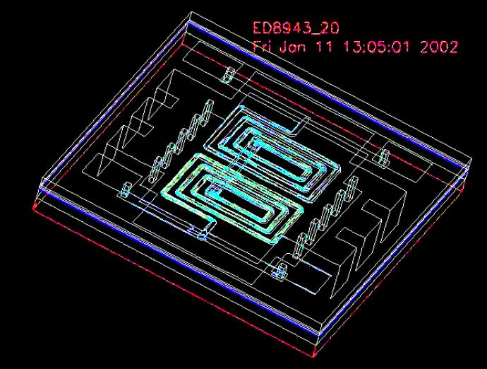 Surface Mount LTCC Quadrature Splitters