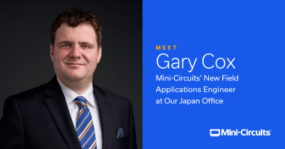 Field Applications Engineer Gary Cox Finds an Uncanny Match in Mini-Circuits Japan