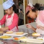 りんごのショートケーキ お菓子教室