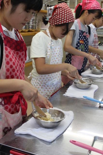 栗まんじゅう 子どもお菓子教室3