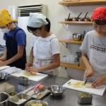 バナナブレッド 子どもお菓子教室