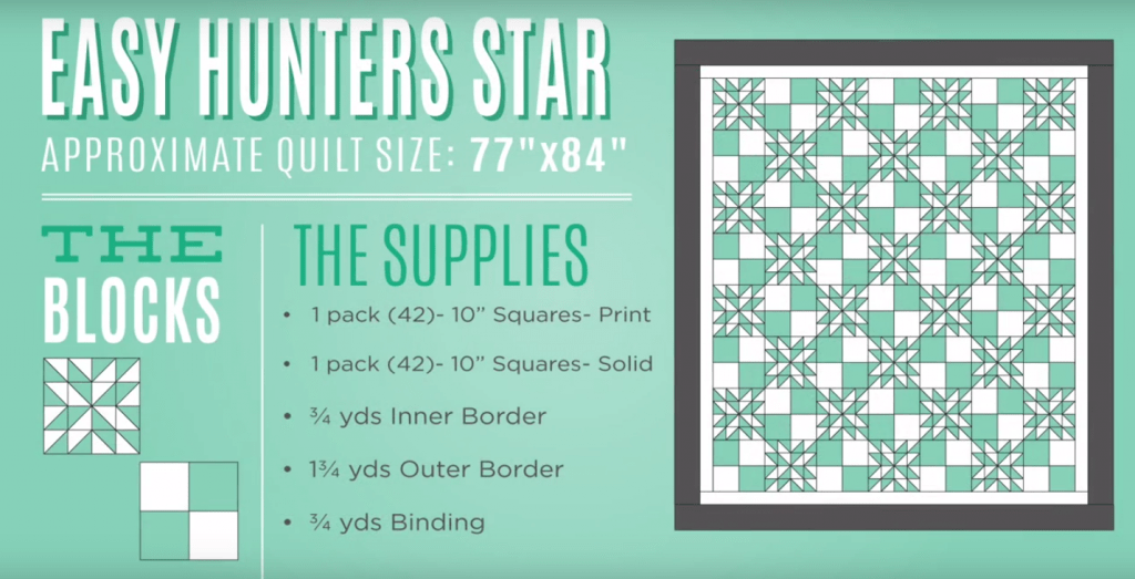 Quilt Pattern Hunters Block Star