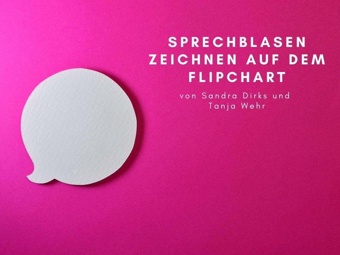 Sprechblasen Flipchart