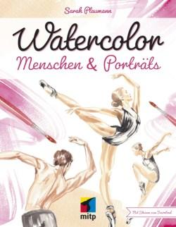 watercolor menschen malen